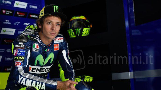 Rossi, notte in ospedale: