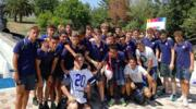 I campioncini Under 17 dell'Inter si divertono all'Aquafan di Riccione