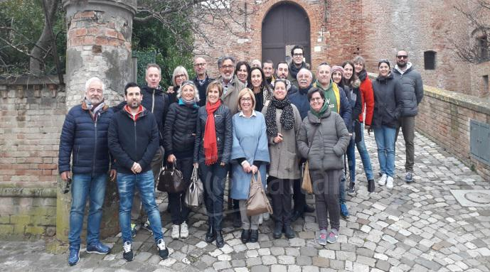 Pro Loco e categorie in educational tour a Santarcangelo