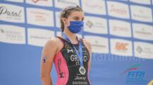La riminese Myral Greco seconda alla Europe Triathlon Junior Cup di Caorle