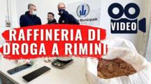 VIDEO Droga Rimini: sequestrati 22 kg tra metanfetamine, cocaina ed eroina