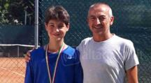 Tennis, Davide Brunetti ha vinto il torneo under 14 del Misano Sporting Club