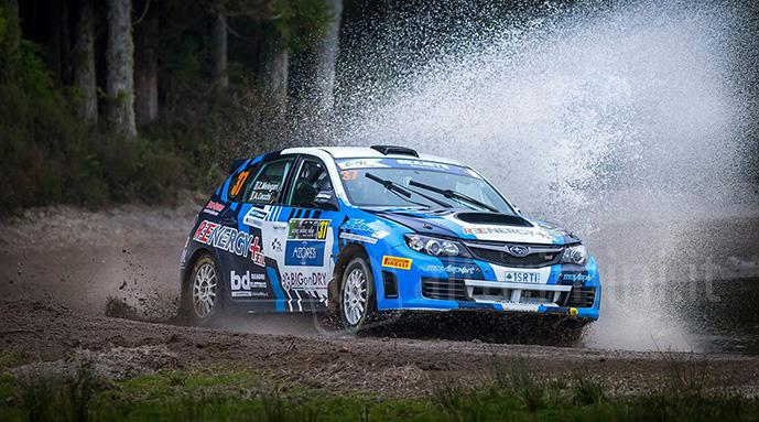 Rally: ancora tanta sfortuna per il Team War Racing nel Campionato Europeo