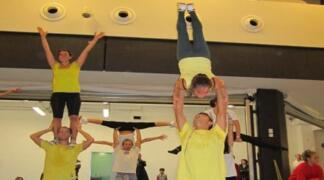 Acrobatic Team Riccione: nuovo flash mob