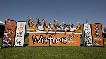 WeFree in tour