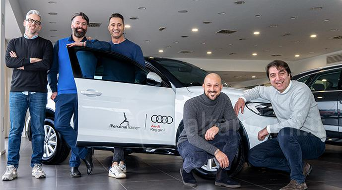 Azione di co-marketing che Audi Reggini e iPersonalTrainer