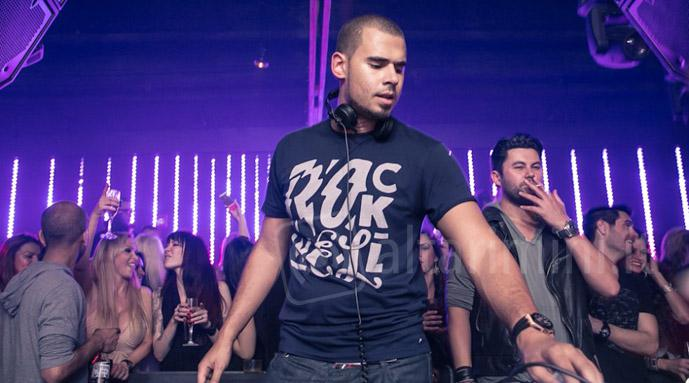 Afrojack in consolle