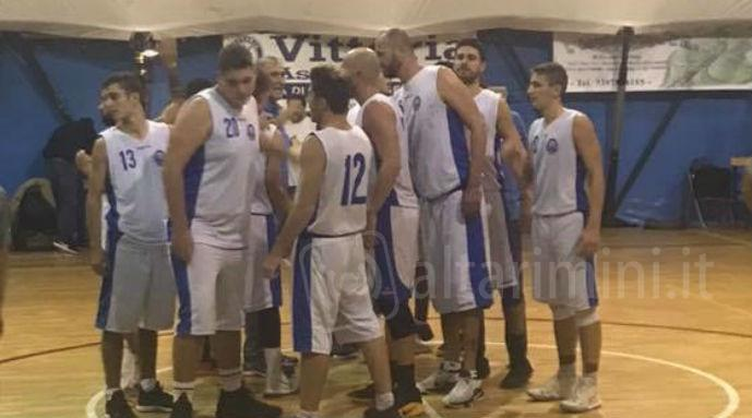 Un time out del Bellaria leader nel campionato di serie D