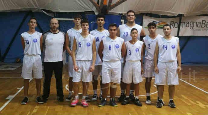 La squadra Under 18 del Bellaria Basket