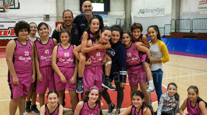 Basket femminile, la Renauto mette il turbo con la Under 13 e la Under 16