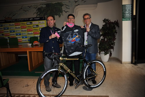 Nove Colli Presenta Rossin Limited Edition E Maglia Griffata Germano