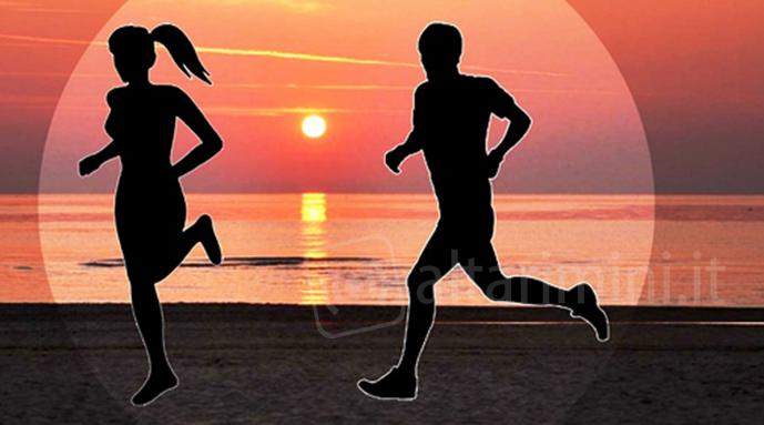 A Rimini sabato 14 va in scena la Run Together Sunset di sera