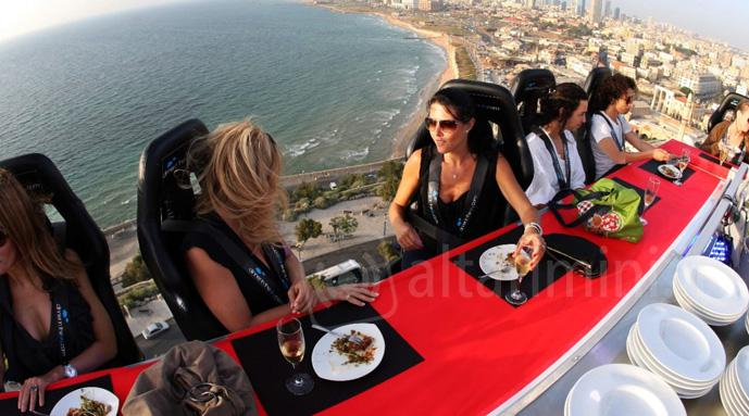 Anche a Cattolica 'dinner in the sky'