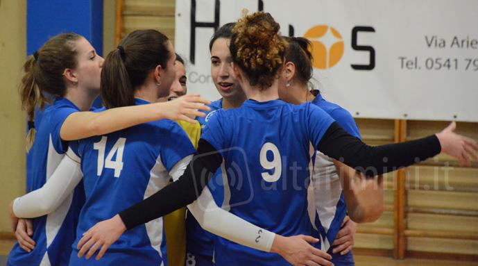Riccione Volley sconfitto in casa da Top Motor, è aggancio in classifica