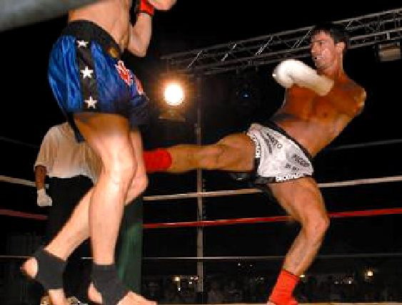 Kick Boxing a Rimini Wellness