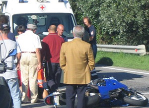 Incidente; grave 25enne