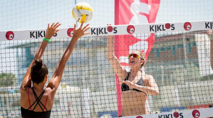 Beach volley in spiaggia a Bellaria