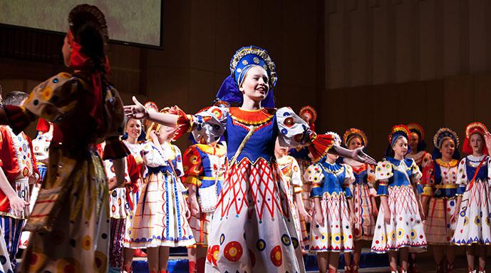 Krasnoyarsk City Children's Choir.