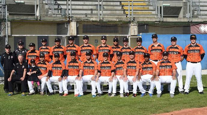 Rimini Baseball, amara sconfitta per 9-1 con Nettuno City terzo in classifica