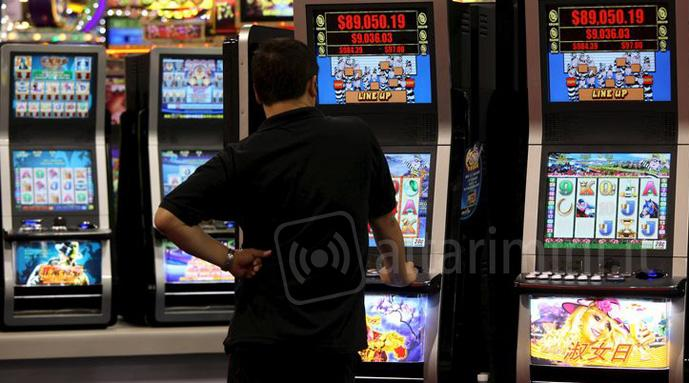 Slot machines (foto di repertorio)