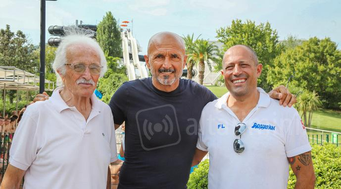 Luciano Spalletti in Aquafan