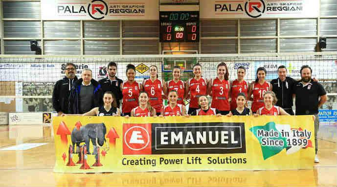 Volley B2 femminile, l'Emanuel Riviera Volley liquida in tre set il Novellara Campagnola