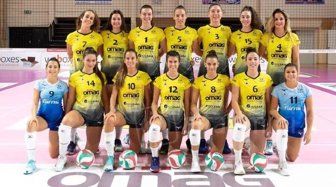 Volley A2 femminile, la Omag supera la attrezzata Pinerolo al tie break (3-2)