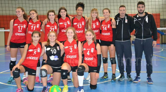 Volley femminile, esordio ok per l'Under 18 Ke Car Riviera Volley: 3-1 al BVolley. Aglio top scorer